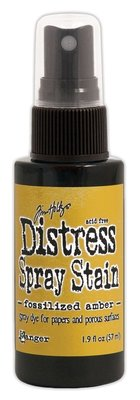 Ranger Distress Spray Stain - Fossilized Amber TSS44116