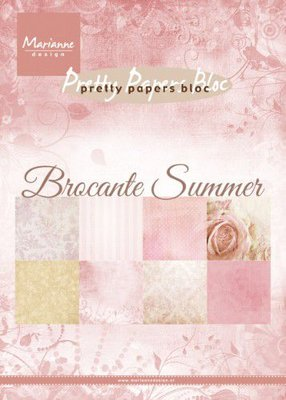 Marianne Design Paper Pack A5 - Brocante Summer PK9166