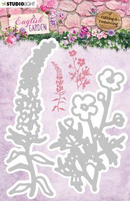 Studio Light Embossing Die - English Garden STENCILEG238