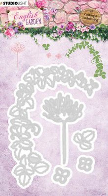 Studio Light Embossing Die - English Garden STENCILEG240