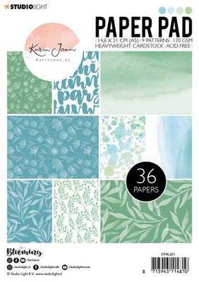 Studio Light Paper Pack A5 - Karin Joan Blooming Collection nr. 1