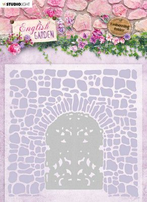Studio Light Embossing Folder - English Garden no. 3