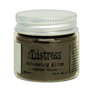 Ranger Distress Embossing Glaze - Walnut Stain TDE71044