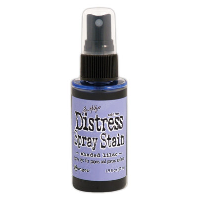 Ranger Distress Spray Stain - Shaded Lilac TSS42495