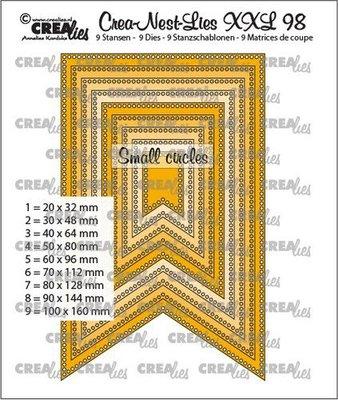 Crealies CREA-NEST-LIES XXL  98