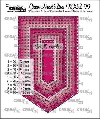 Crealies CREA-NEST-LIES XXL  99