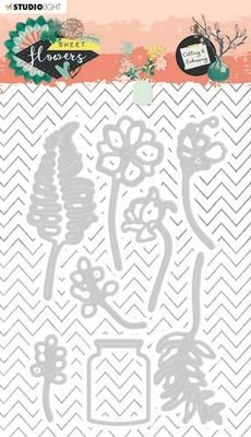 Studio Light Embossing Die - Sweet Flowers no. 246 (pre-order)
