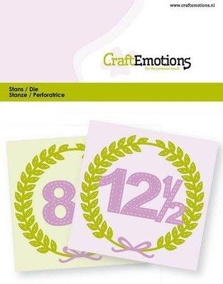 CraftEmotions Die - Anniversary