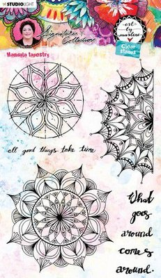 Studio Light Cling Stamp - Art by Marlene 5.0 no. 48