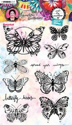 Studio Light Cling Stamp - Art by Marlene 5.0 no. 49