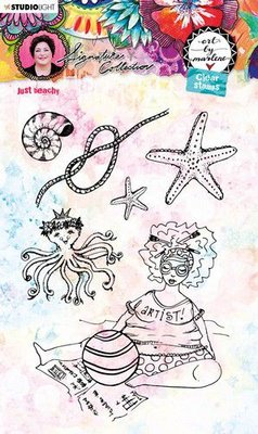Studio Light Cling Stamp - Art by Marlene 5.0 no. 53
