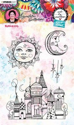 Studio Light Cling Stamp - Art by Marlene 5.0 no. 54