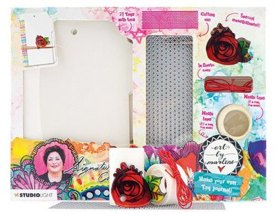 Studio Light Art Journal Art by Marlene 5.0 DIY Tag no. 07