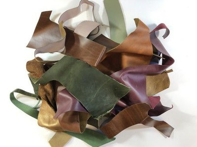 CraftEmotions Leather Pieces Assortment Small