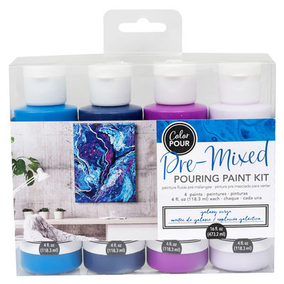 American Crafts Pouring Paint Kit - Galaxy