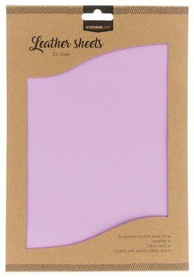 Studio Light Synthetic Leather Sheets no. 6 - Lavender