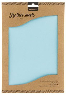 Studio Light Synthetic Leather Sheets no. 8 - Baby Blue