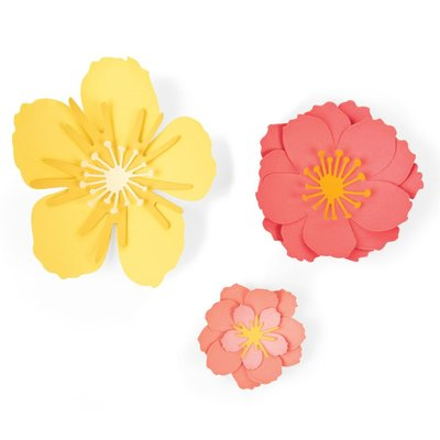 Sizzix Thinlits Die - Floral Blossom 664443