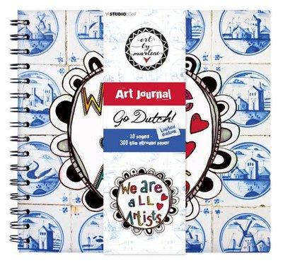 *Pre-order* Studio Light Art Spiral Bound Journal Art by Marlene Go Dutch no. 10