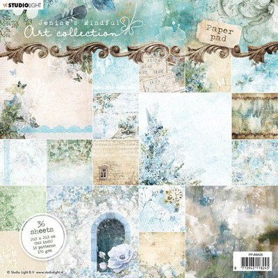 *Pre-order* Studio Light Paper Pack 20 x 20 cm - Jenine's Mindful Art 4.0 no. 06