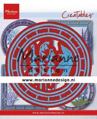 Marianne Design Creatable - Blue Belle Circle LR0648