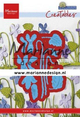 Marianne Design Creatable - Petra's Violets LR0649