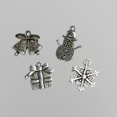 Nellie's Choice Bedels - Kerst CHARM005