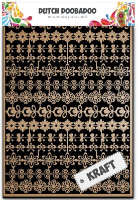 Dutch Doobadoo Craft Art - Flower Border 479.002.002
