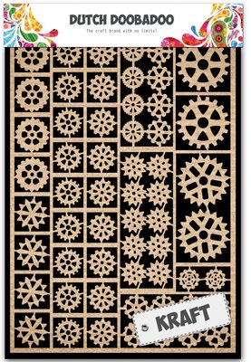 Dutch Doobadoo Craft Art - Gears 479.002.001