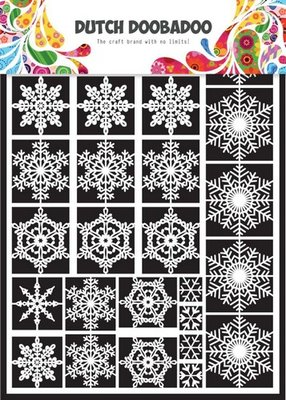 Dutch Doobadoo Paper Art - Snowflakes 472.948.003