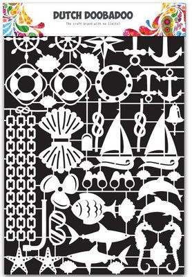 Dutch Doobadoo Paper Art - Nautical 472.948.025