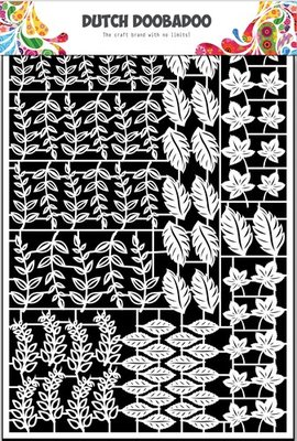 Dutch Doobadoo Paper Art - Leaves 2 472.948.044
