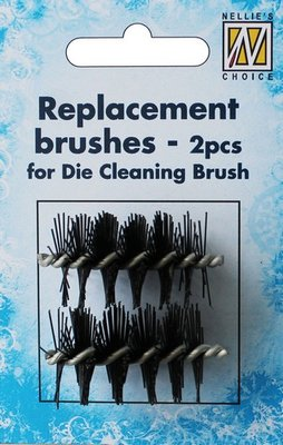 Nellie's Choice Die Cleaning Brush - Reserveborstels RDCB001