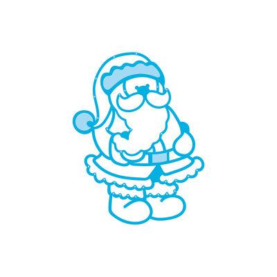 Tonic Studios Rococo Die Christmas - Jolly Santa 1375E SALE