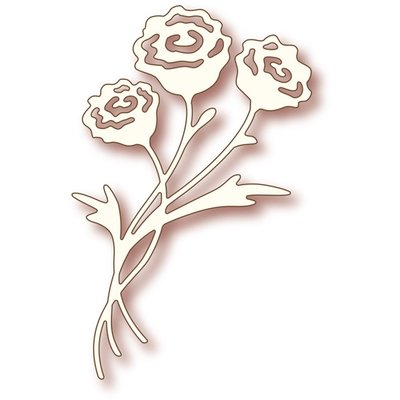 Wild Rose Studio Specialty Die - Rose Bunch SD014 SALE
