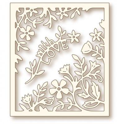 Wild Rose Studio Specialty Die - Flower Frame SD066 SALE