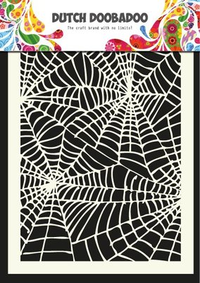 Dutch Doobadoo Mask Art A5 - Spiderweb 470.715.011