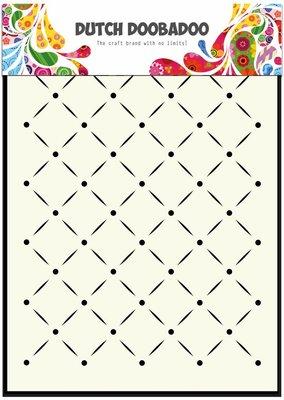 Dutch Doobadoo Mask Art A5 - Stripes and Dots 470.715.041