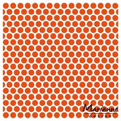 Marianne Design Embossing Folder - Dots DF3431 SALE