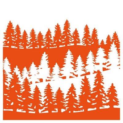 Marianne Design Embossing Folder - Forrest DF3430 SALE
