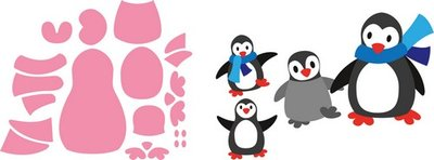 Marianne Design Collectable - Eline's Pinguin COL1416