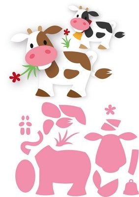 Marianne Design Collectable - Eline's Cow COL1426