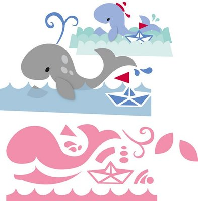 Marianne Design Collectable - Eline's Whale COL1430
