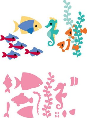 Marianne Design Collectable - Eline's Tropical Fish COL1431