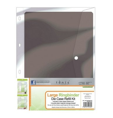 Tonic Studios Ringbinder Die Case Inserts - Large 348E