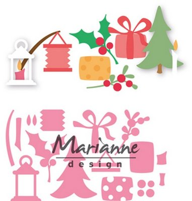 Marianne Design Collectable - Eline's Christmas Decorations COL1439