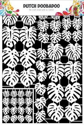 Dutch Doobadoo Paper Art - Leaves Small 472.948.049