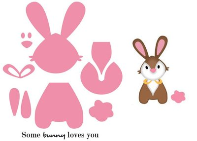 Marianne Design Collectable - Eline's Bunny COL1354