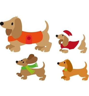 Marianne Design Collectable - Eline's Dachshund COL1411