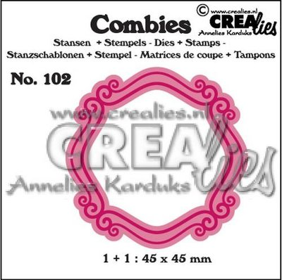 Crealies Combies 102 - Kader B SALE
